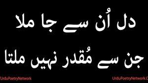 jin se muqadar nahi milta
